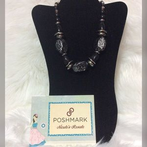 Paparazzi Necklace Chunky Black